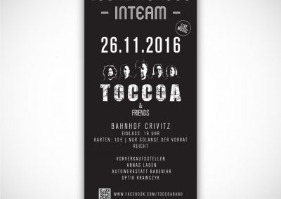 Flyer Toccoa